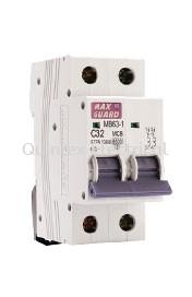 MAXGUARD MB63-1 2P MCB (Miniature Circuit Breaker)