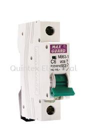 MAXGUARD MB63-1 1P MCB (Miniature Circuit Breaker)
