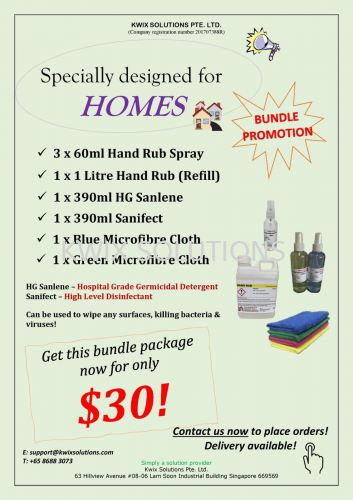 Our New Bundle Package for HOMES!
