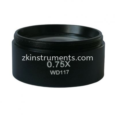 Objective Lens 0.75X WD117
