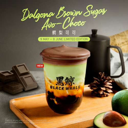 Dalgona Avo Choco Officially Launched