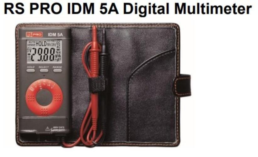 123-3251 - RS PRO IDM5A Handheld Digital Multimeter