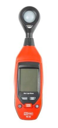 155-8901 - RS PRO RS-92 Light Meter, 40000lx
