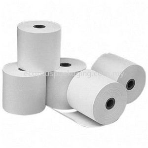 Thermal Paper Roll for Small Printer Thermal Paper Roll Receipt Roll Selangor, Malaysia, Kuala Lumpur (KL), Subang Jaya Supplier, Suppliers, Supply, Supplies | Eco Plus Packaging