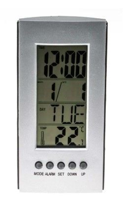 656-5660 - RS PRO Digital Thermometer, 1 Input LCD