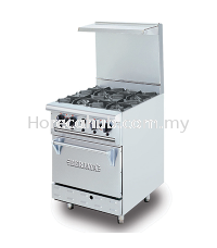 STAINLESS STEEL DELUXE RANGE OVEN WITH OPEN BURNER (DRO4H) OVEN STOVE Johor Bahru (JB), Malaysia Supplier, Suppliers, Supply, Supplies | HORECA HUB