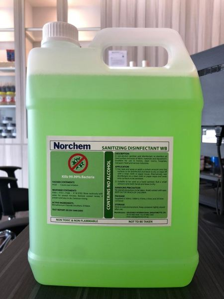 NORCHEM SANITIZING DISINFECTANT WB NORCHEM Johor Bahru (JB), Johor, Malaysia Supplier, Suppliers, Supply, Supplies | KSJ Global Sdn Bhd