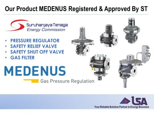 Our Product MEDENUS From Germany Now Registered and Approved By Energy Commission (Suruhanjaya Tenaga)