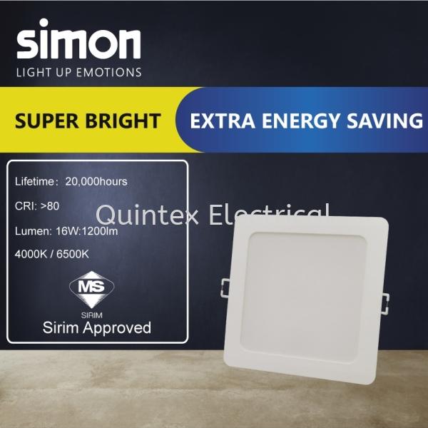SIMON Valor LED Downlight 16 Watt (6inches) SIMON  Downlight  Lighting Selangor, Malaysia, Kuala Lumpur (KL), Shah Alam Supplier, Suppliers, Supply, Supplies   Quintex Electrical Engineering & Trading