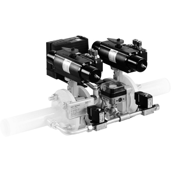 HF Bloc-...: Double valve combination, Pneumatic actuator, One-stage butterfly valve SYSTEM ENGINEERING GAS TRAINS - DUNGSHeatEngine DUNGS GAS COMPONENTS GAS PRODUCT Selangor, Malaysia, Kuala Lumpur (KL), Puchong Supplier, Supply, Supplies, Services | LSA Energy Resources Sdn Bhd