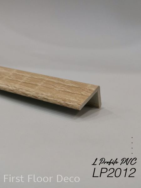 LP2012 L Profile PVC Flooring Accessories  Penang, Malaysia Supplier, Installation, Supply, Supplies | First Floor Deco