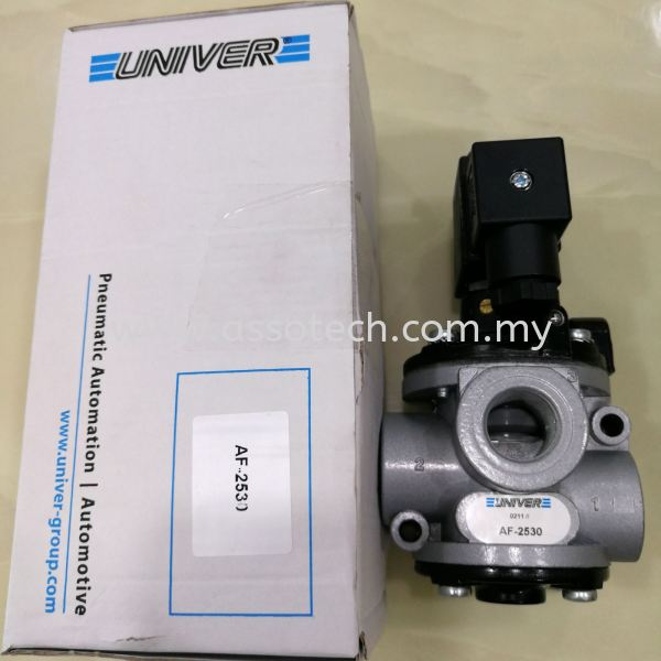 UNIVER Valve with coil, Model: AF-2530 UNIVER Valve / Cylinder Penang, Malaysia, Bayan Baru Supplier, Suppliers, Supply, Supplies | Assotech Resources