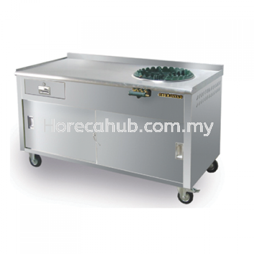 ROTI CANAI COUNTER WITH DRAWER STALL  STAINLESS STEEL FABRICATION  Johor Bahru (JB), Malaysia Supplier, Suppliers, Supply, Supplies | HORECA HUB