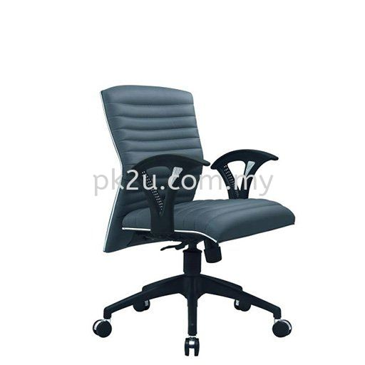 PK-ECOC-6-L-C1- Checkers Low Back Chair Task Office Chair Fabric Office Chairs Office Seating Johor Bahru, JB, Malaysia Manufacturer, Supplier, Supply | PK Furniture System Sdn Bhd