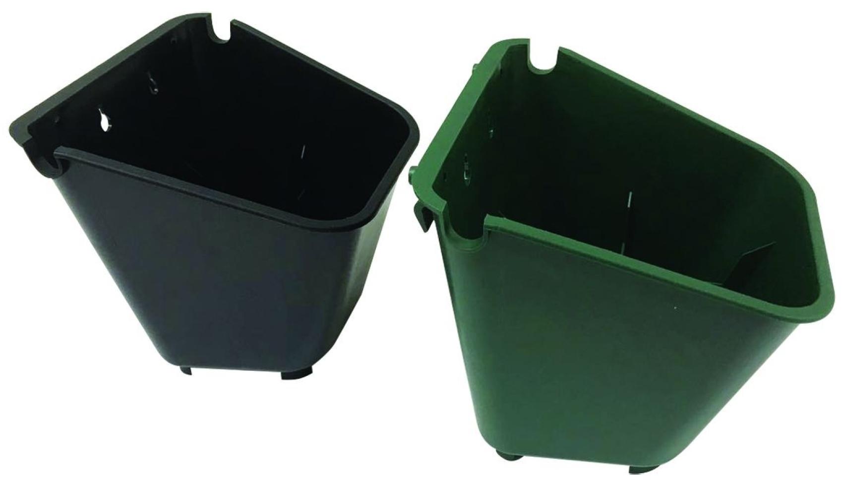 Green Wall Pot