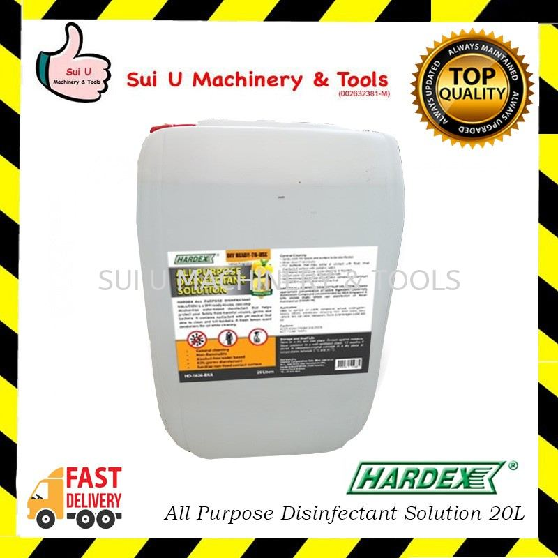 HARDEX All Purpose Disinfectant Solution 20Liter Ready to use