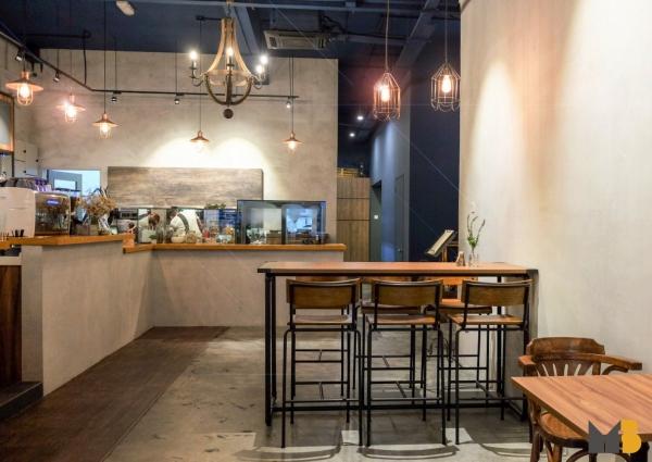 Seating Area Souffle Dessert Cafe, Puchong Food & Beverage Puchong, Selangor, Malaysia, Kuala Lumpur (KL) Service, Design | M Innovative Builders Sdn Bhd