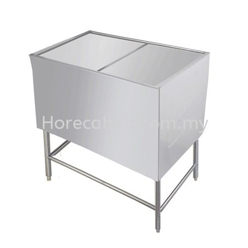 ICE BIN WITH STAND (IB-WS) STALL  STAINLESS STEEL FABRICATION  Johor Bahru (JB), Malaysia Supplier, Suppliers, Supply, Supplies | HORECA HUB