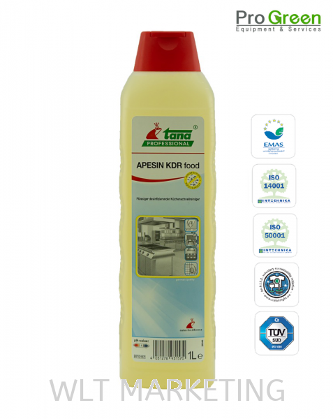 Disinfection Cleaner - Apesin KDR Food 1L Green Chemical (Eco-Friendly) Chemical Johor Bahru (JB), Malaysia, Taman Ekoperniagaan Supplier, Suppliers, Supply, Supplies | WLT Marketing Sdn Bhd