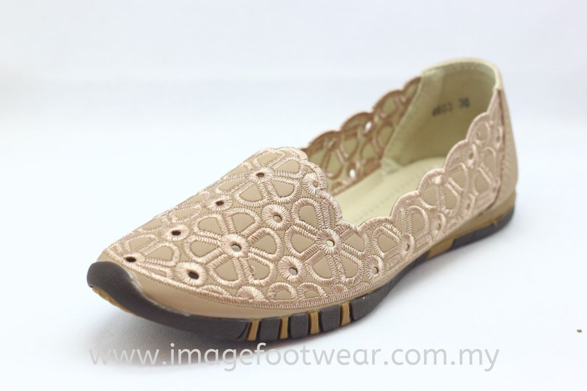 Lady Flat Trendy Comfort Shoe - TF-6603- PINK Colour