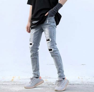 DC HYPE RIPPED JEANS 04