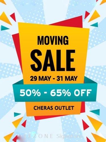 MOVING SALE 50% - 65% (29 MAY - 31 MAY)