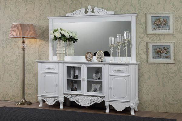 KING ALFRED - SIDE BOARD & SIDE BOARD MIRROR FRAME KING ALFRED 0027 Malaysia, Selangor, Kuala Lumpur (KL), Sungai Buloh Manufacturer, Supplier, Supply, Supplies | The Home Concept Furniture Sdn Bhd