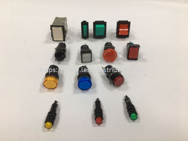 MINI PILOT LAMP AND PUSH BUTTON PUSH BUTTON & ACCESSORIES Johor Bahru (JB), Malaysia, Ulu Tiram Supplier, Suppliers, Supply, Supplies | LES Industrial Automation Sdn Bhd