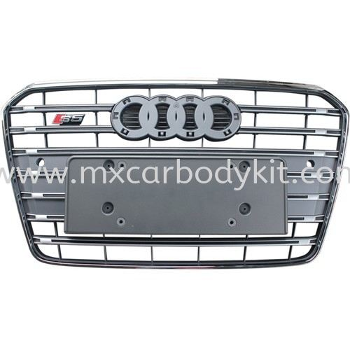 AUDI A5 B8 2013 S5 STYLE FRONT GRILLE A5 AUDI Johor, Malaysia, Johor Bahru (JB), Masai. Supplier, Suppliers, Supply, Supplies | MX Car Body Kit
