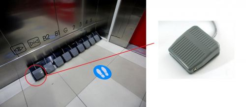 ELEVATOR WITH FOOT PEDAL SWITCH Malaysia Singapore Thailand Indonesia Philippines Vietnam Europe USA