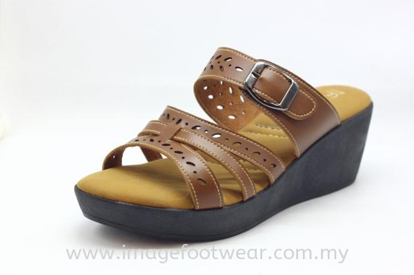 if IMAGE Low-priced Women 2inch Comfort Slipper  EQ2065- TAN Colour if IMAGE Women's Comfort Low-priced Ladies Shoes Malaysia, Selangor, Kuala Lumpur (KL) Retailer   IMAGE FOOTWEAR COLLECTION SDN BHD