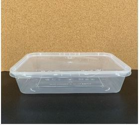 500 ml Rectangle Containers Food Containers Malaysia, Selangor, Kuala Lumpur (KL), Rawang Manufacturer, Supplier, Supply, OEM | CEC Plastics Sdn Bhd
