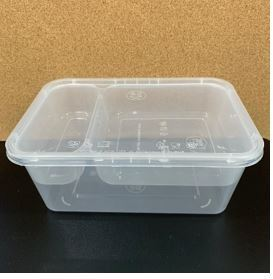 1000 ml + 2 Compartment Tray Round Containers Food Containers Malaysia, Selangor, Kuala Lumpur (KL), Rawang Manufacturer, Supplier, Supply, OEM | CEC Plastics Sdn Bhd