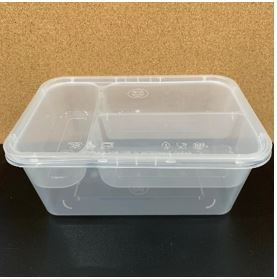 1000 ml + 3 Compartment Tray Rectangle Containers Food Containers Malaysia, Selangor, Kuala Lumpur (KL), Rawang Manufacturer, Supplier, Supply, OEM | CEC Plastics Sdn Bhd