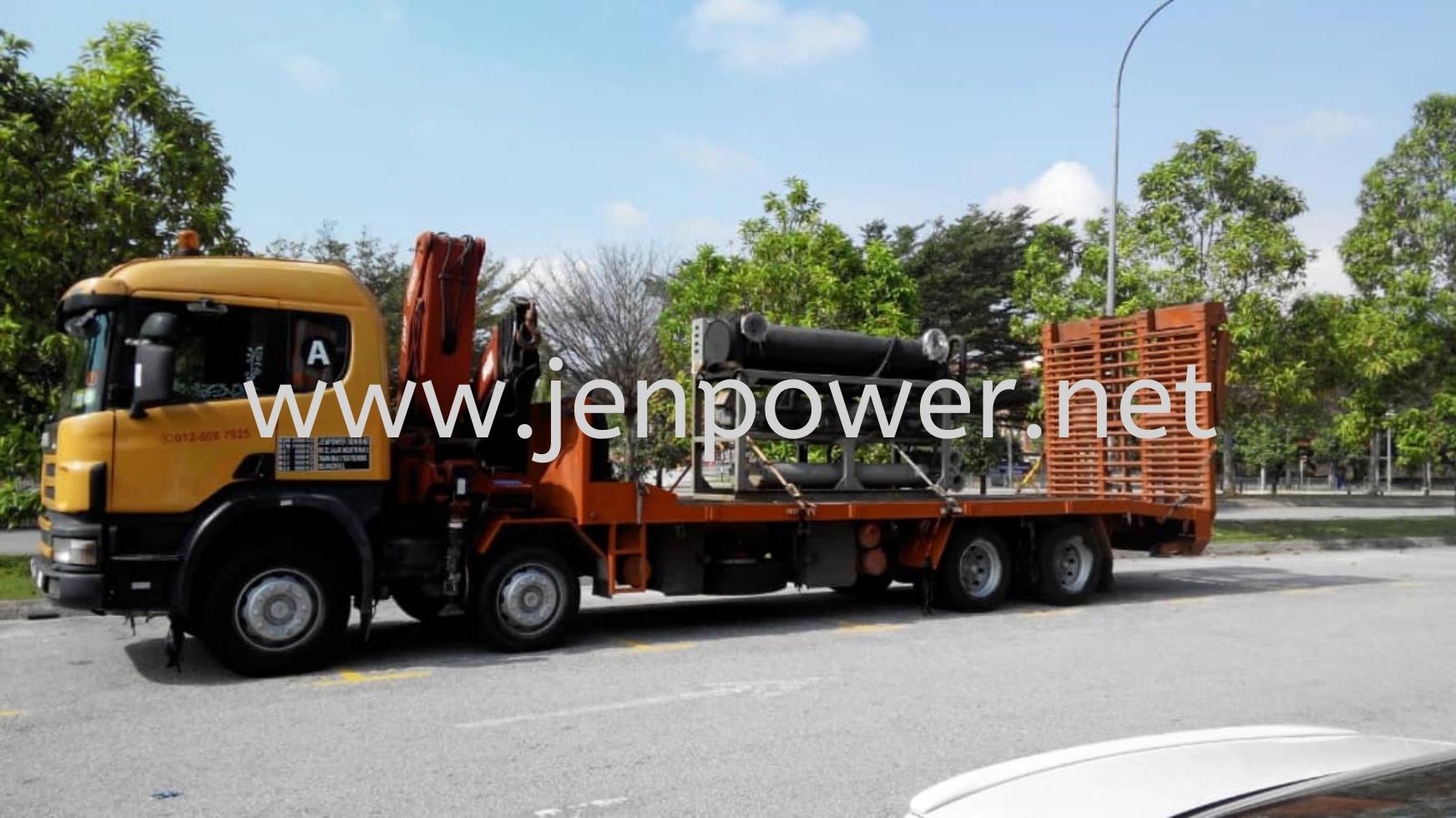 Lorry crane