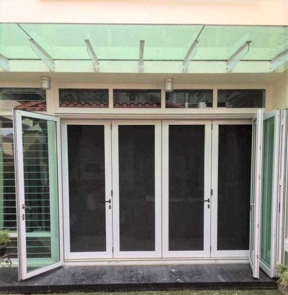 Rolling Screen Mosquito Door Series Johor Bahru (JB), Malaysia, Taman Pelangi Supplier, Suppliers, Supply, Supplies | Tectone Design Sdn Bhd