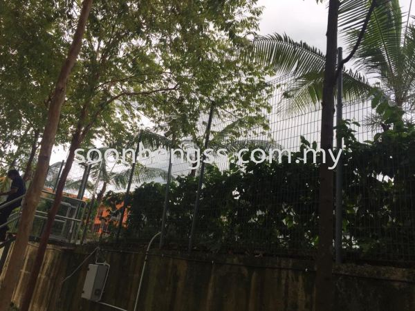 GALVANIZED FENCE OTHERS Johor Bahru (JB), Skudai, Malaysia Contractor, Manufacturer, Supplier, Supply | Soon Heng Stainless Steel & Renovation Works Sdn Bhd