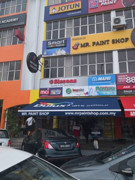 Project Let's Colour DULUX Others Seremban, Nilai, Malaysia, Negeri Sembilan Manufacturer, Supplier, Supply, Supplies | A Class Neon Sign Sdn Bhd