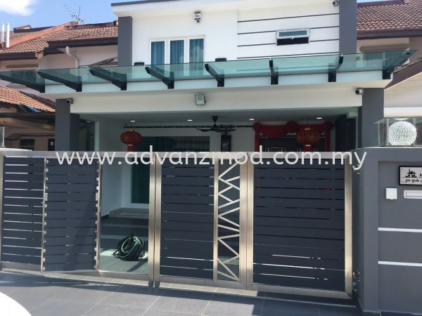 Glass Roof With Lemi Glass  T-Beam With Glass Roof Selangor, Malaysia, Kuala Lumpur (KL), Puchong Supplier, Supply, Supplies, Retailer | Advanz Mod Trading