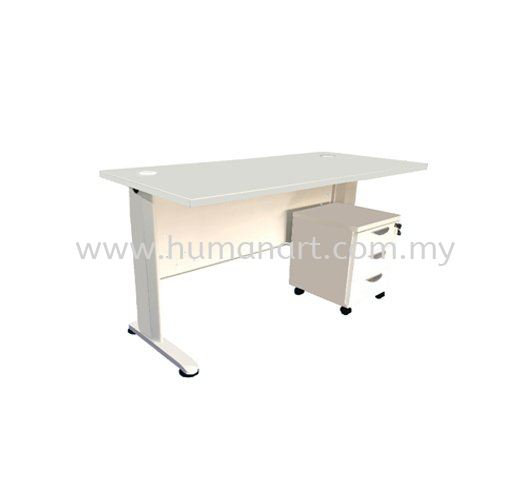 (PROMO SET 2) 5' TABLE + PEDESTAL MJ Series Executive Table Kuala Lumpur (KL), Malaysia, Selangor Supplier, Suppliers, Supply, Supplies | Human Art Office System