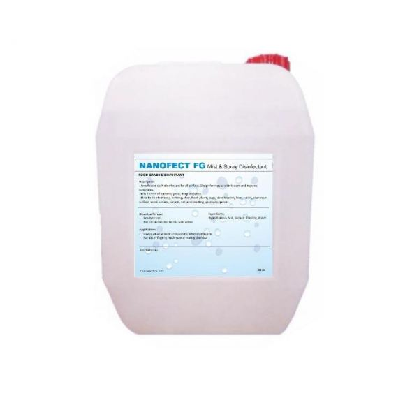 NANO DISINFECTANT(AREA & SURFACE) 25L Health Care Singapore Supplier, Supply, Manufacturer | Biosystem Group Pte Ltd