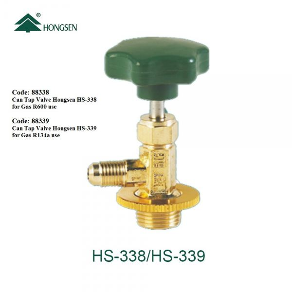 Code: 88338 Can Tap Valve Hongsen HS-338 Accessories / Tool Refrigerator Parts Melaka, Malaysia Supplier, Wholesaler, Supply, Supplies | Adison Component Sdn Bhd