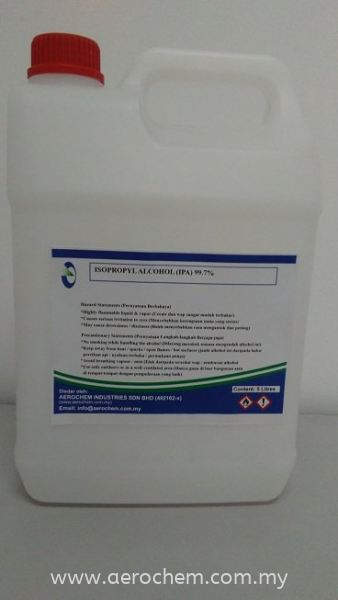 ISOPROPYL ALCOHOL 99.7% ALCOHOL - TYPE SANITIZER ( ISOPROPYL ALCOHOL ) Johor Bahru (JB), Malaysia, Taman Daya Supplier, Suppliers, Supply, Supplies | Aerochem Industries Sdn Bhd