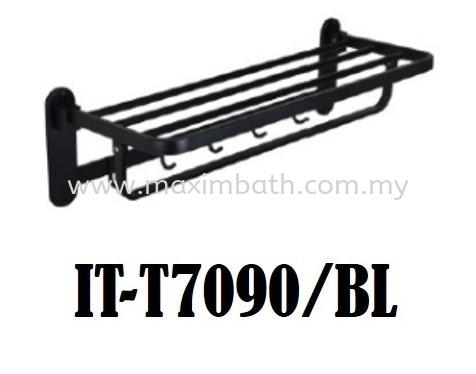 IT-T7090-BL Black Series ITTO Bathroom Accesories Puchong, Selangor, Kuala Lumpur (KL), Malaysia. Supplier, Suppliers, Supplies, Supply | Maxim Bath & Kitchen Gallery Sdn Bhd