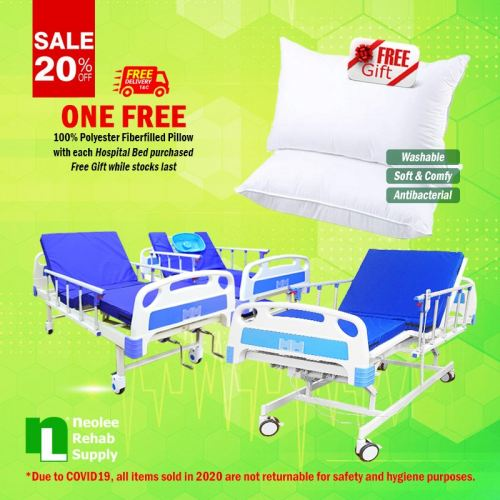 Free Pillow Hospital Bed Promo