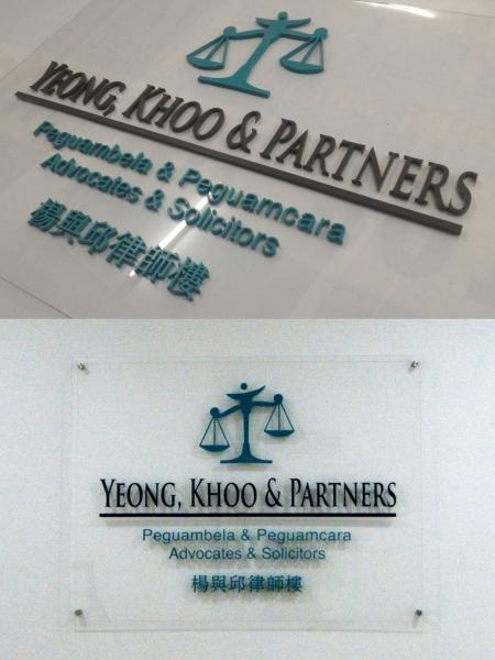 Laser Cut Acrylic Signage Acrylic Signage Selangor, Malaysia, Kuala Lumpur (KL), Klang, Puchong, Petaling Jaya (PJ) Supplier, Suppliers, Supply, Supplies | Bannerking Sdn Bhd