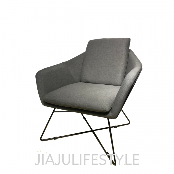 MCC-8431-GRY Design Chairs Metal Series Furniture Penang, Malaysia, Bukit Mertajam Supplier, Suppliers, Supply, Supplies | Jiaju Lifestyle Sdn Bhd