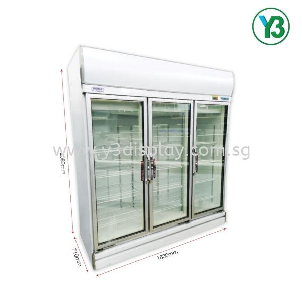 Primeo 3Glassdoor Chiller  GlassDoor Chiller Primeo Chiller And Freezer Singapore Supplier, Distributor, Supply, Supplies | Y3 Display and Storage Pte Ltd
