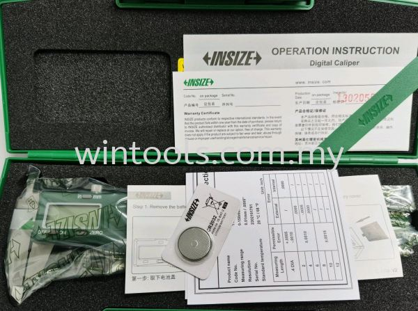 """1108-150 (0-150MM/0-6"""") 1108-150 (0-150MM/0-6"""") DIGITAL CALIPER INSIZE Penang, Malaysia Supplier, Suppliers, Supply, Supplies 