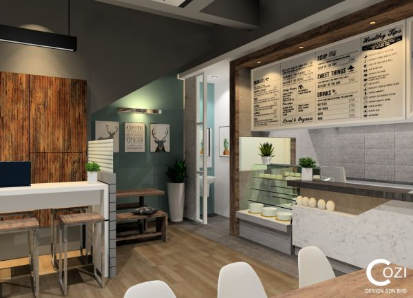 Cafe Design Cafe design 2. Commercial Project Penang, Malaysia, Butterworth Design, Renovation, Contractor, Services | Cozi Design Sdn Bhd